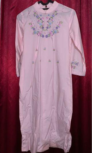 Atasan Muslim Pink