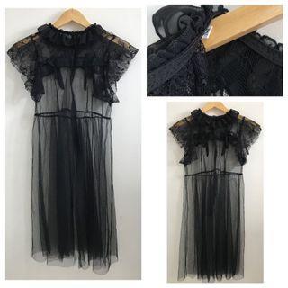 Tulle Transparent Dress