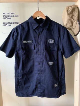 MIX TALENT Short Sleeve shirt / izzue Rucker Hat