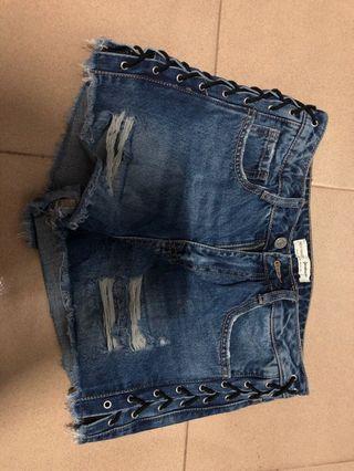 Jeans celana pendek