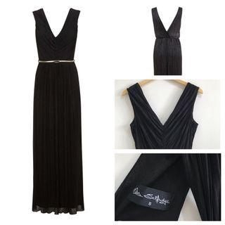 Black Party Maxi Dress