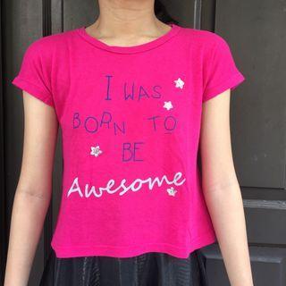 Kaos Pink / T-Shirt
