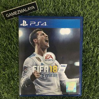 [USED] PS4 FIFA 18 - (GAMEZMALAYA)   PS4 USED GAMES