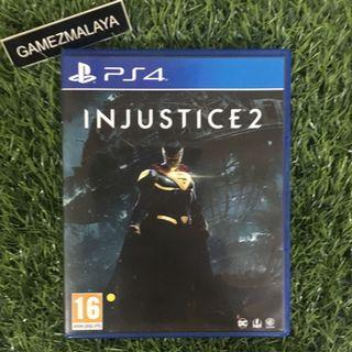 [USED] PS4 INJUSTICE 2 - (GAMEZMALAYA)   PS4 USED GAMES