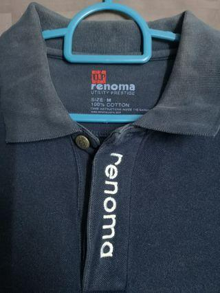 RENOMA U. P. Polo T-Shirt (Dark Blue)