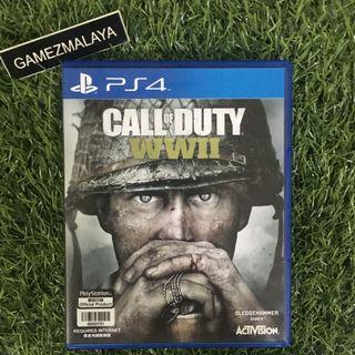 [USED] PS4 CALL OF DUTY WAR WORLD 2 - (GAMEZMALAYA)   PS4 USED GAMES