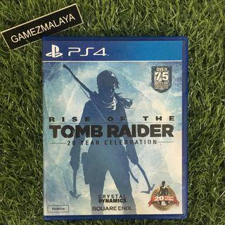 [USED] PS4 RISE OF TOMB RAIDER - (GAMEZMALAYA)   PS4 USED GAMES