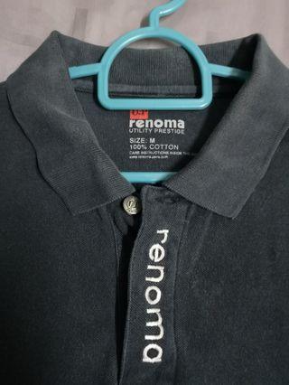 RENOMA U. P. Polo T-Shirt (Black)