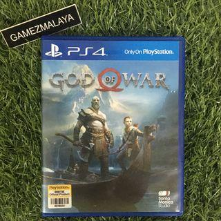 [USED] PS4 GOD OF WAR 2018 - (GAMEZMALAYA)   PS4 USED GAMES
