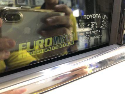 Euromaster USA Sputter Tinted Film 🇺🇸