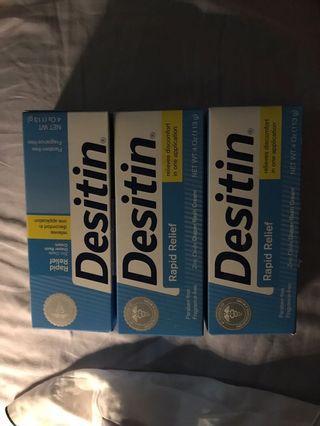 Desitin Cream 4Oz