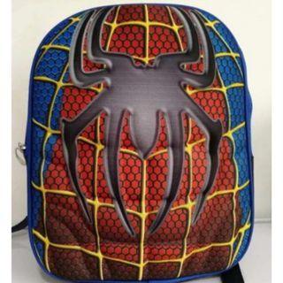 Kids Muscle Backpack Spiderman School Bag