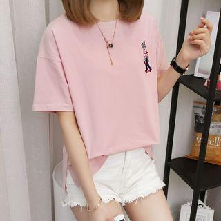 Women's Casual Embroidery Shirt