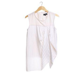 Hunting Fields Pleated Top