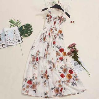 Floral Dress Ready Stock!