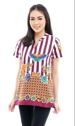 NEW blouse batik cantique fit to 65kg