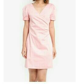 Pink Dress zalora