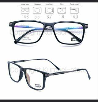 Frame kacamata Montblanc