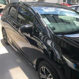 Honda Shuttle 2015-2019 Door Visor