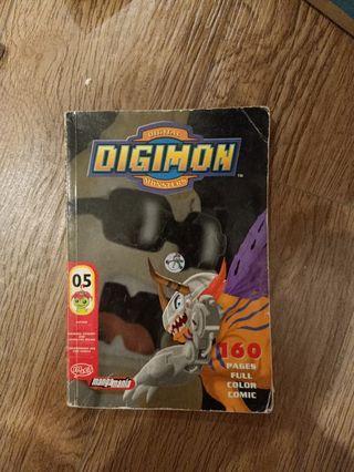 Jual buku komik / comic digimon