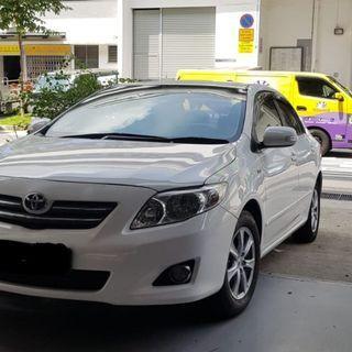 Toyota Altis 2008-2013 Door Visor