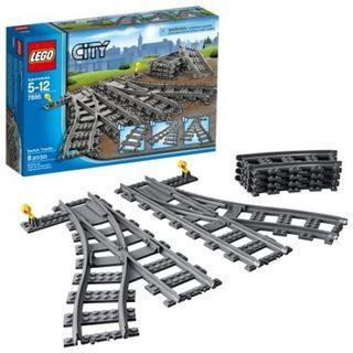LEGO 7895 Train Switch tracks
