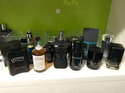 Colognes for sale/trades