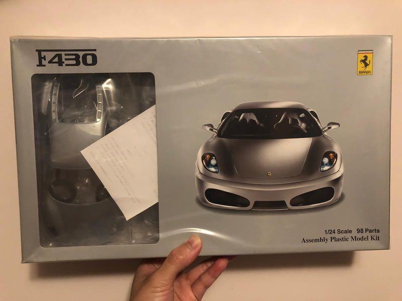 模型車 法拉利 1/24 F430
