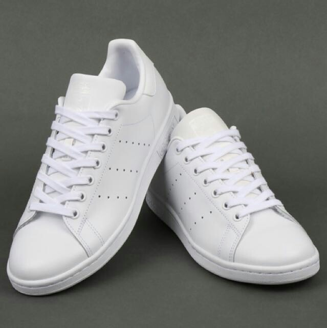 low priced b7aee d27ec Adidas Stan Smith Triple White, Men's Fashion, Footwear ...