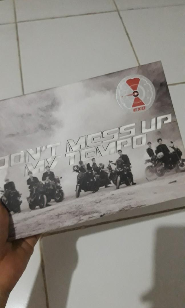 """ALBUM EXO """"DONT MESS UP MY TEMPO"""" UNSEALED"""
