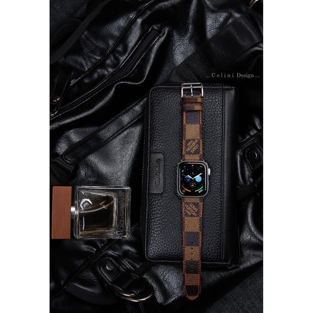 Apple Watch Band Series 4 Band 44mm 40mm | LV Apple Watch Band LV iwatch Band | 38mm iwatch Band 42mm| iwatch Series 4 Band | Luxury Band