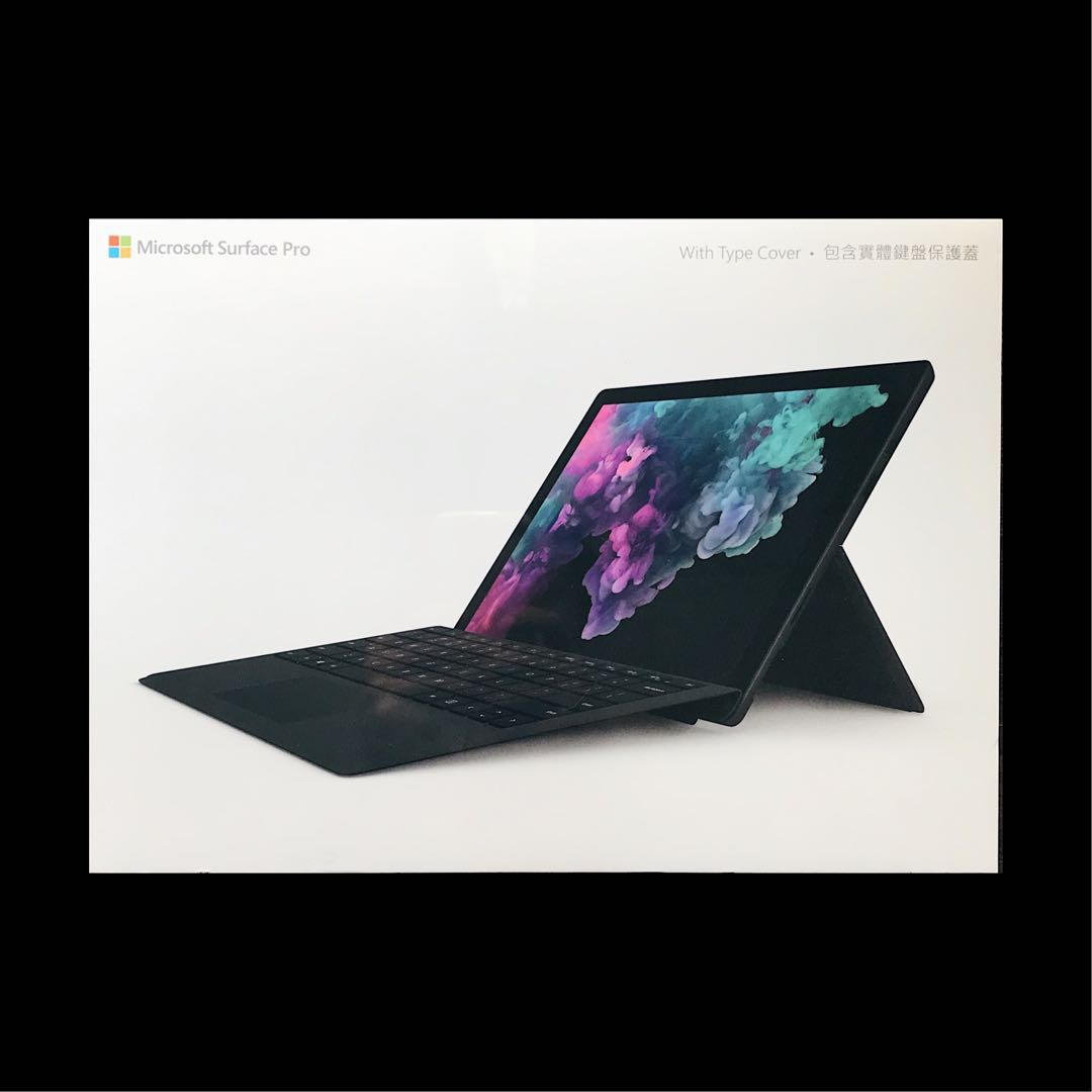 Black] Surface Pro 6 + Type Cover Bundle, Electronics
