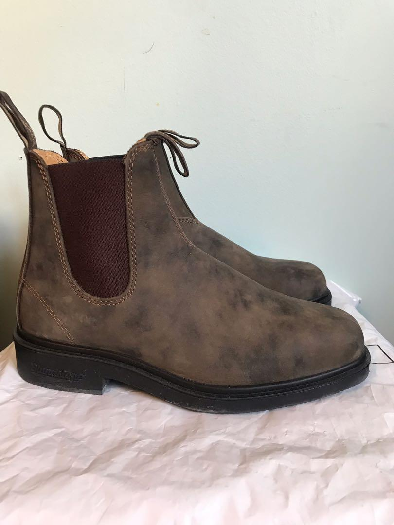Blundstone 1306 Brown Chiseled Toe Almost Brand New