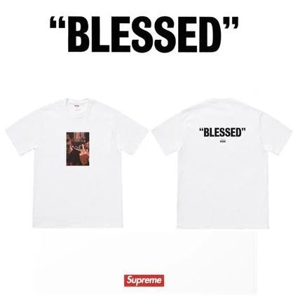 a62e370b9de3 brand new) Supreme fw18 blessed Tee + dvd set, Luxury, Apparel ...