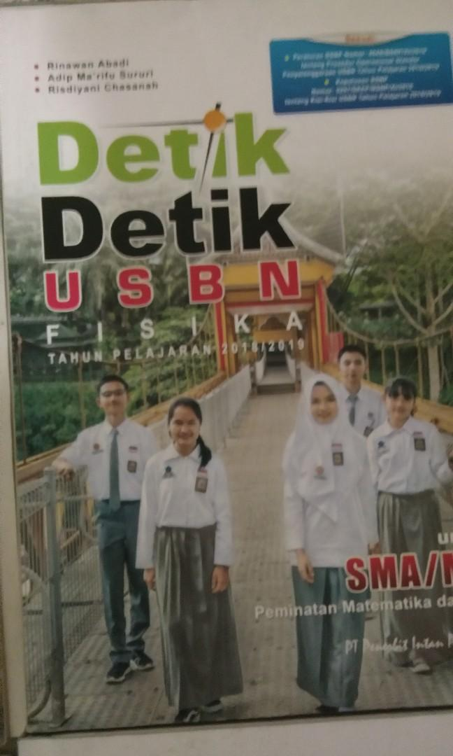 Buku Detik Detik UN dan USBN Kurikulum 2013. Lengkap!!!.Kondisi masih 85% baru
