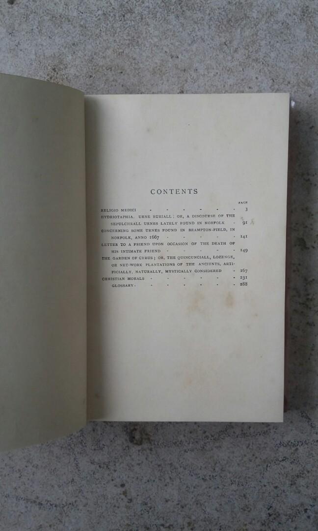 Buku Kuno The Religio Medici and Other Writings