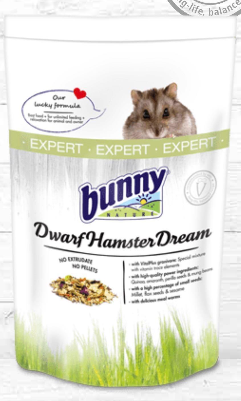 BUNNY NATURE] Expert Dwarf Hamster Food 500g, Pet Supplies