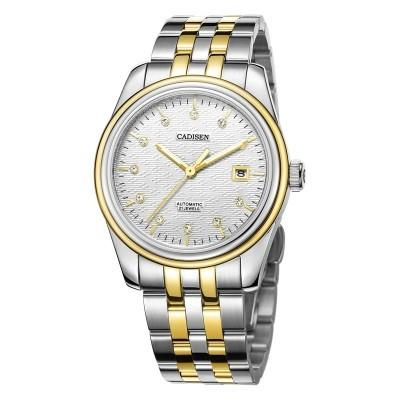 CADISEN C8089M Stainless Steel Imported Mechanical Movement Waterproof Men Watch