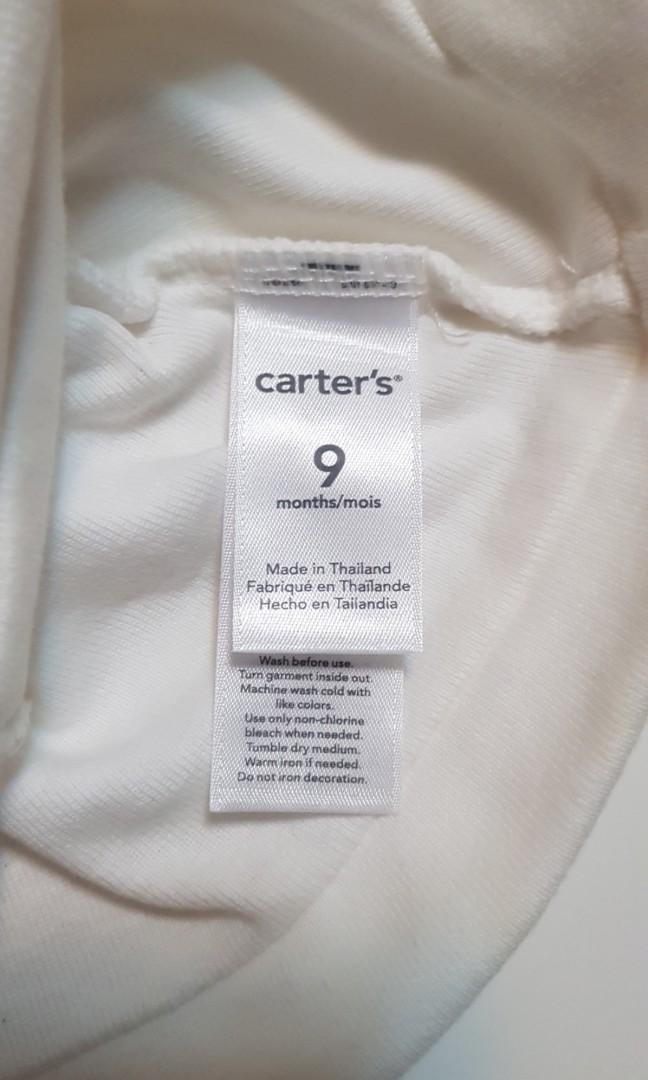二手carter's嬰兒純棉可愛羊咩咩帽(9個月)