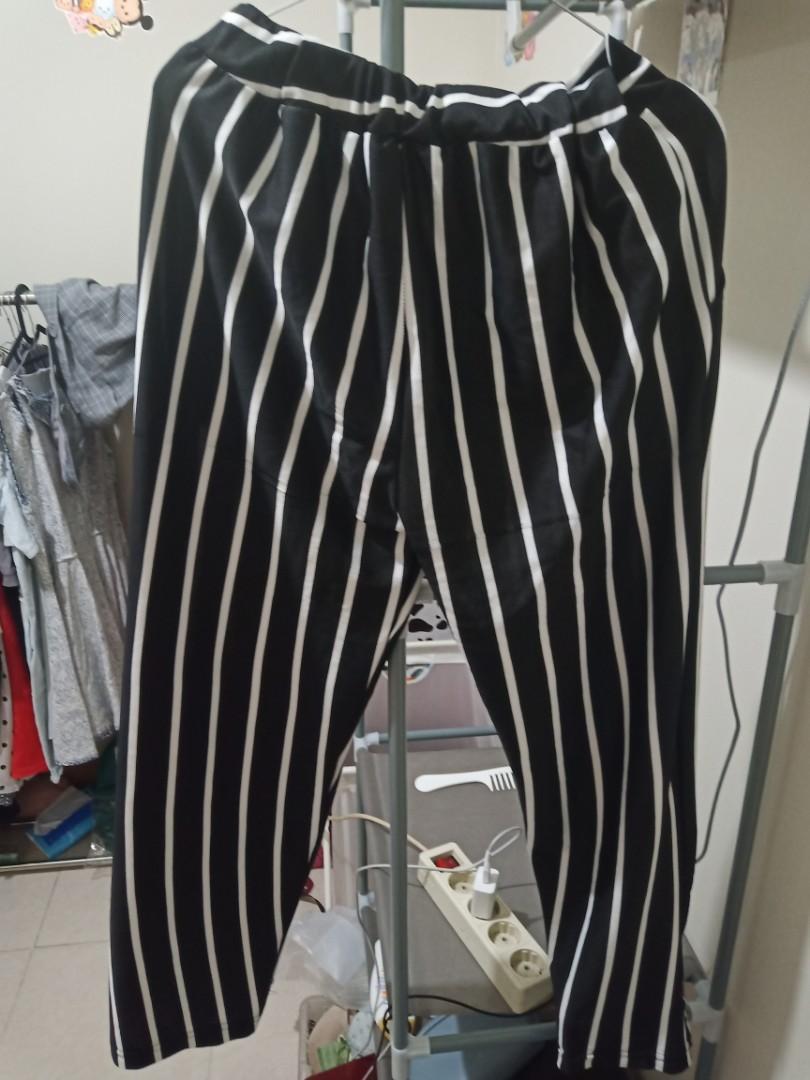 Celana Kulot garis garis / Stripe Pants