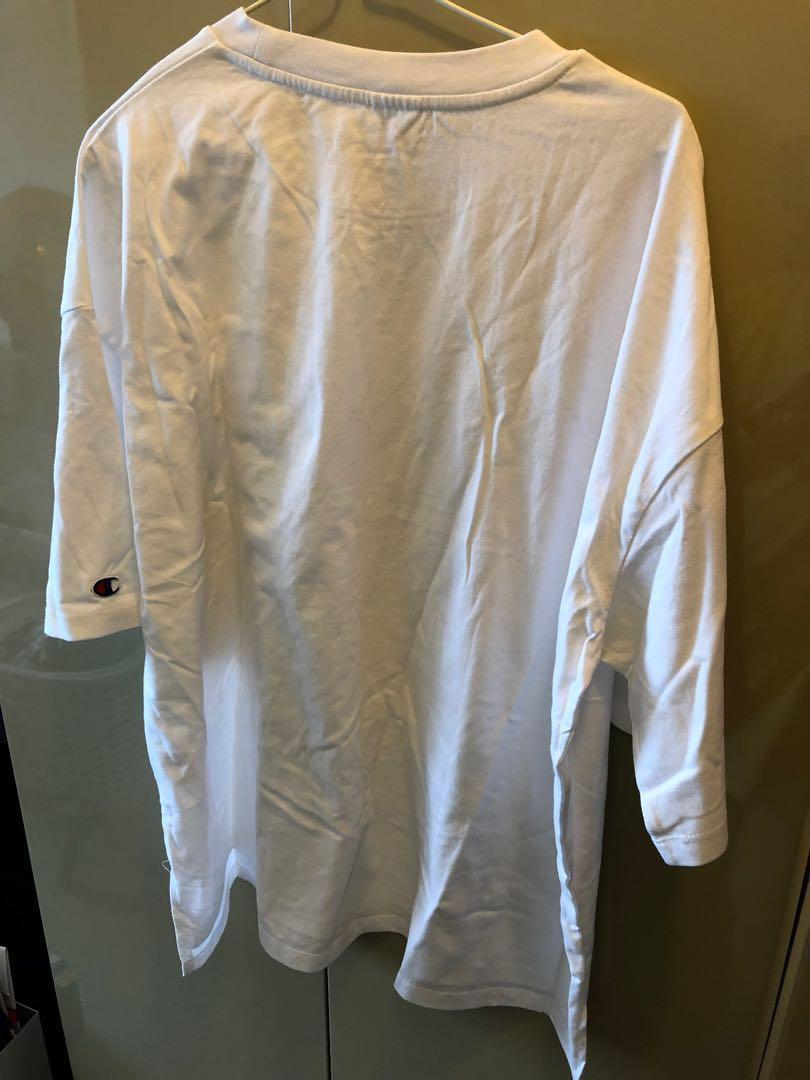 Champion - Unisex White T-Shirt (Brand New)