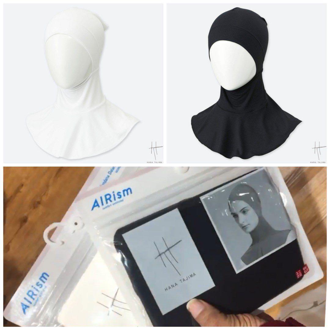 Ciput ninja uniqlo airism hana tajima hanatajima innern jilbab antem anpus adem anti tembem anti pusing best seller terlaris