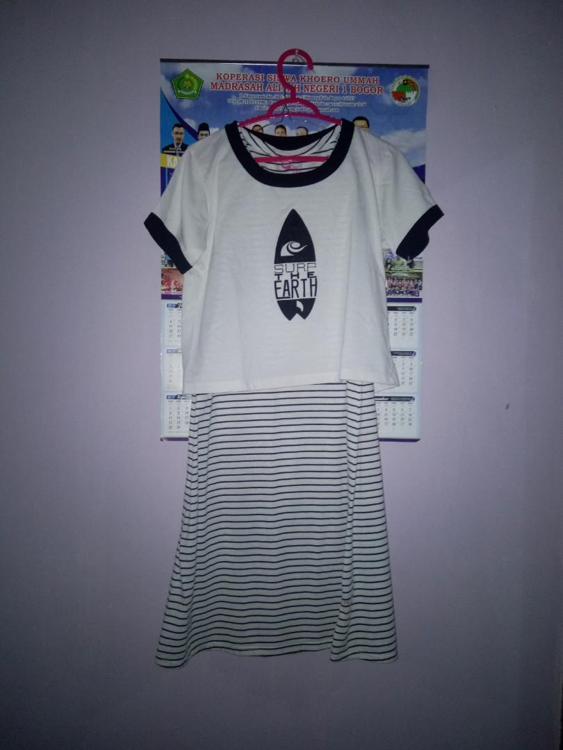 croptee mididress