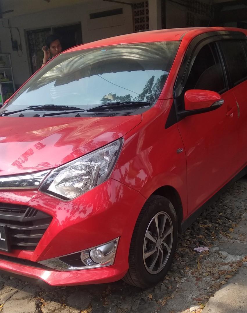 Daihatsu sigra r matic 2017 pkt credit