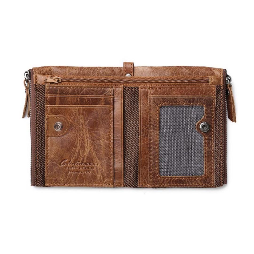 Dompet bahan Kulit GUBINTU G406