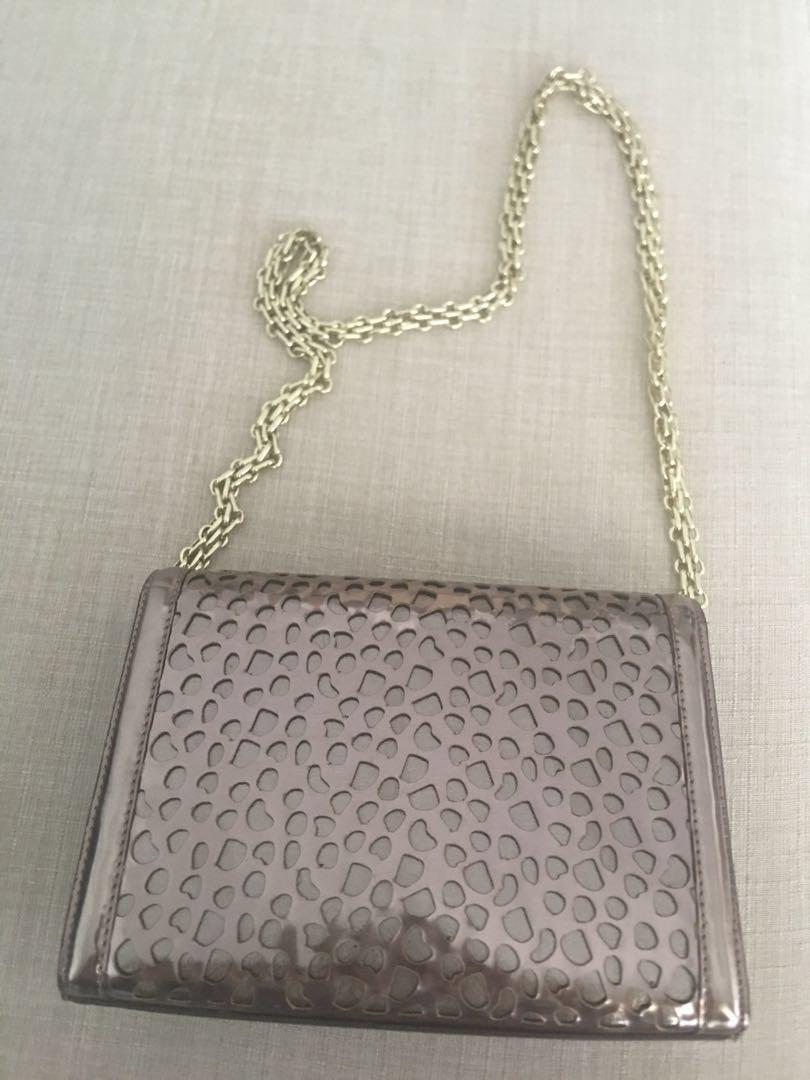 Eclipse Rose Gold Shoulder Bag