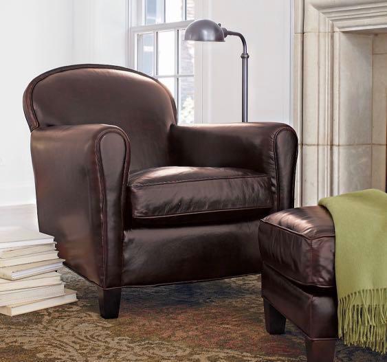 Eiffel Leather Sofa And Ottoman Furniture Sofas On Carousell