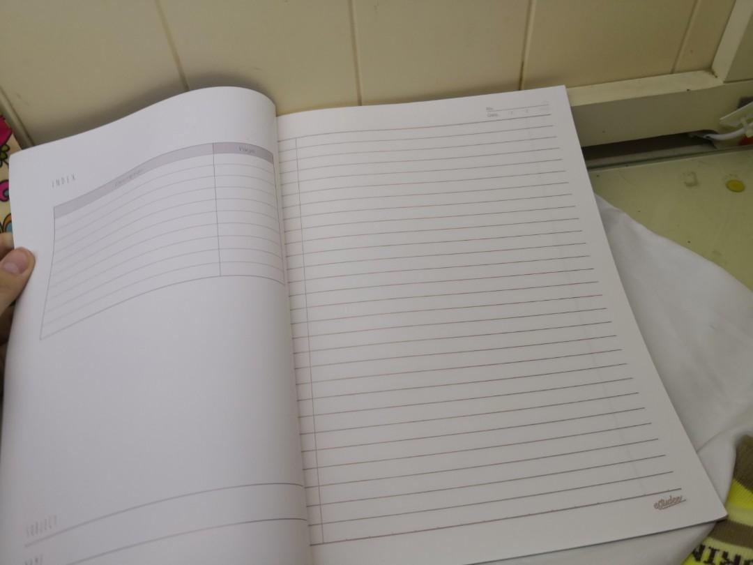 Estudee buku tulis size b7