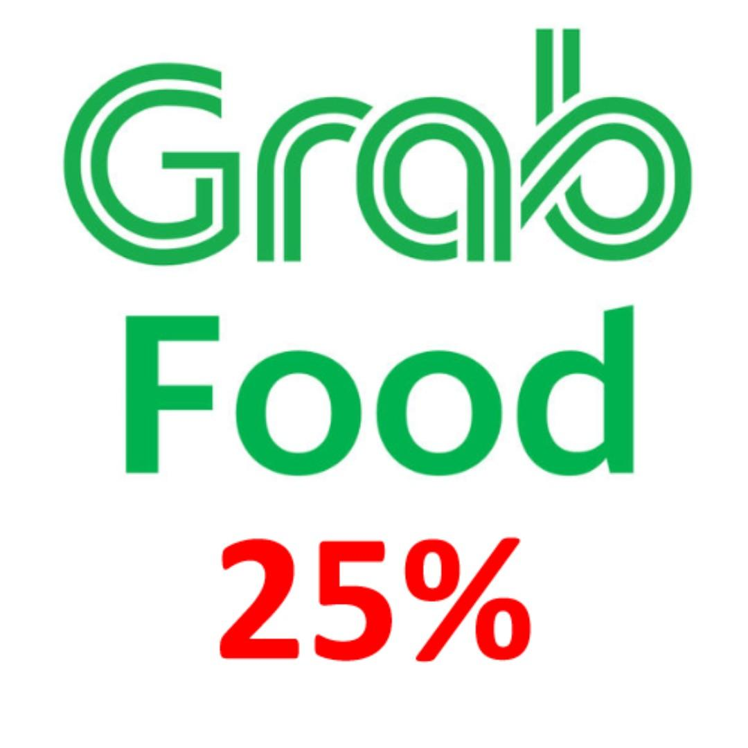 Grabfood 25% off $25 up to $15 discount Grab Voucher Coupon