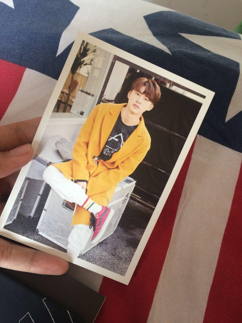 HANBIN OFFICIAL PHOTOCARD IKON ALBUM 2nd RETURN RED